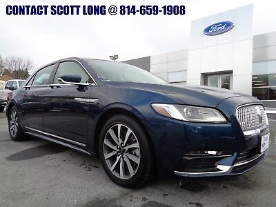 2017 Lincoln Continental 2017 Continental FWD Premiere Only 5K Miles Blue