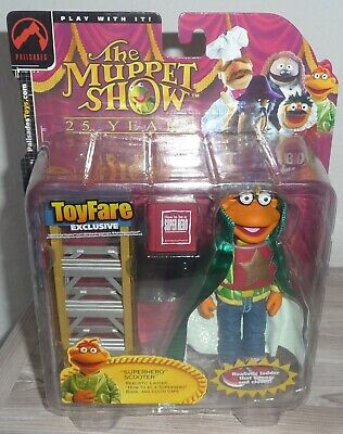 ToyFare Exclusive Muppets Super Hero Scooter Action Figur Muppet Show 25 Years