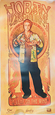 Firefly (Art Nouveau) HOBAN WASHBURNE Poster Firefly Loot Cargo Crate March 2018