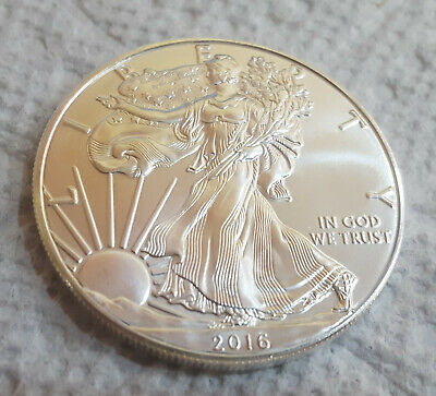 2016 1 oz American Silver Eagle ~ Brilliant Uncirculated ~ Choose How Many ~