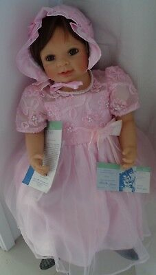 Masterpiece Gallery Large Silicon/vinyl Limited Edition Artist Doll, Jennica, By