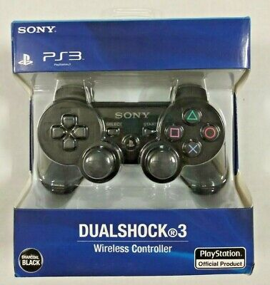 New Sony PlayStation 3 SIXAXIS PS3 DualShock 3 Wireless Controller Black 99004