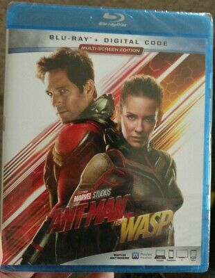 ANT-MAN AND THE WASP (BLU RAY +Digital) Paul Rudd/Michael Douglas/MARVEL/HTF New