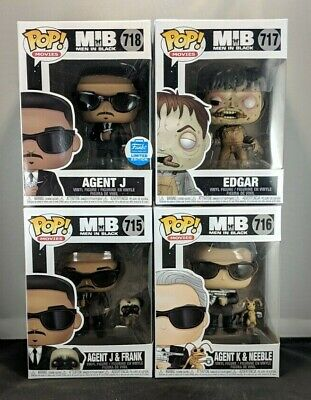 Funko Pop! Movies: Men In Black  FUNKO SHOP EXCLUSIVE  FULL LOT  FREE SHIPPING