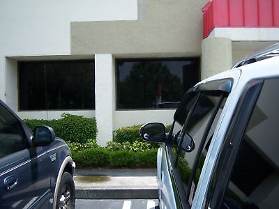 """SUPERLIMO BLACK 3% WINDOW TINT FILM 20"""" BY 25 ft ROLL - THE DARKEST FILM WE SELL"""