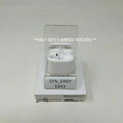 Authentic Apple AirPods Wireless Bluetooth Headset w/ Case MMEF2AM/A