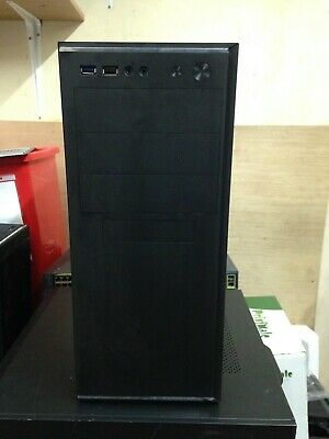 FAST Quad Core i3 4th Gen Gaming is PC Tower WIFI & 8GB 500GB HDD & Win 10 GT210