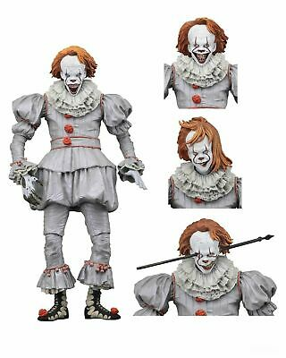 """IT - 7"""" Scale Action Figure - Ultimate Well House Pennywise (2017) - NECA NIB"""