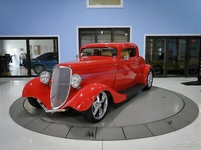 1933 Ford Model A  Fiesta Red Show Car Coupe