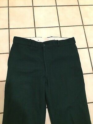 6aa4bb44460 VTG 60s Johnson Woolen Mills Wool Hunting Green Outdoor Hiking Heavy Thick  Pants