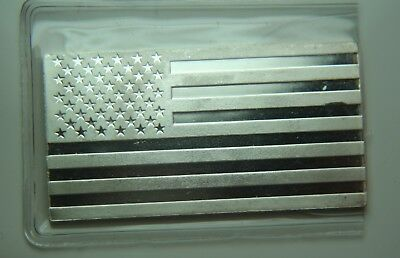 The American Flag .999 Fine Silver Art Bar - The Washington Mint  - .6250oz