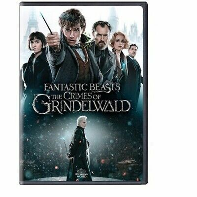 Fantastic Beasts: The Crimes of Grindelwald DVD 2 Disc Set New Free Shipping!
