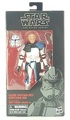 """MINT In Hand Star Wars The Black Series Captain Rex 6/"""" #59 AUTHENTIC Best Price"""