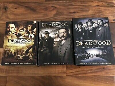 Deadwood: The Complete Series 1-3 set (18-disc DVD Set Seasons 1 2 3