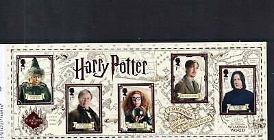 HARRY POTTER 2018 Stamp Mini Sheet Mint - WITH BARCODE MARGIN  **SALE**