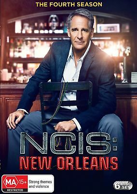 Ncis  New Orleans Season 4 Fourth Australian Release Region 4 Brand New & Sealed