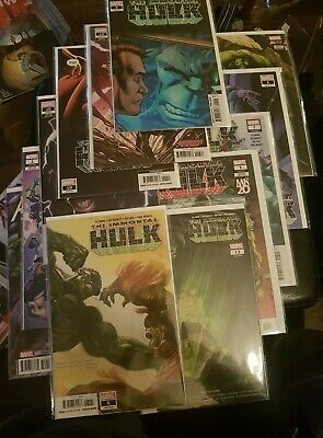 Immortal Hulk Lot 12 1st appearance NM 1 3 5 7(x3) 10(x2) 12 13 Avengers 682 684
