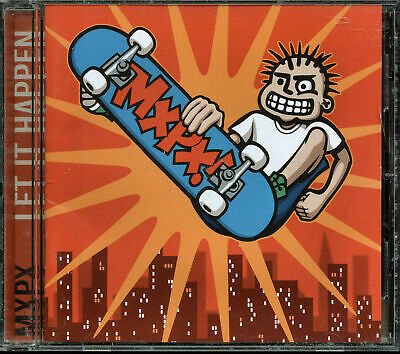 MxPx - Let It Happen (CD, Nov-1998, Tooth & Nail Records)