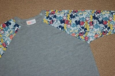 LuLaRoe Collection for Disney - KIDS SLOAN - Size 12 - MICKEY MOUSE!  Christmas