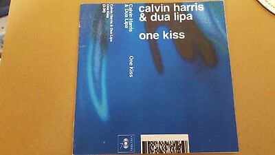 Calvin Harris Ft Dua Lipa One Kiss 10 Mix Cd Promo New