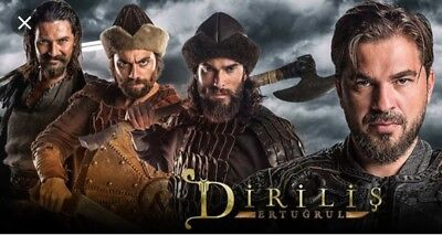 DIRILIS ERTUGRUL - Seasons 3, 4 AND 5 - with English Subtitles