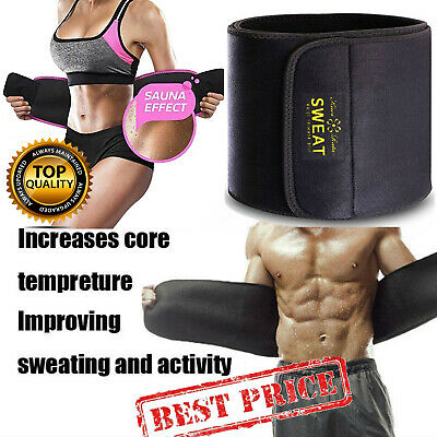 Waist Trimmer Belt Sweat Wrap Tummy Stomach Weight Loss Fat Burner Slimming Belt