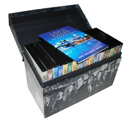 Law and Order: The Complete Series DVD 104 Disc Set Seasons 1-20 30 Day Warranty