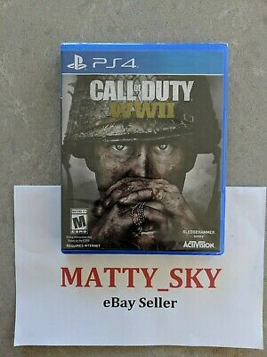 Call of Duty: WWII - Sony PlayStation 4 WW2 PS4 - *Brand New / Sealed*