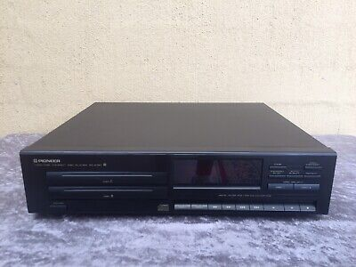Fully Serviced Pioneer PD-Z72 Twin CD Player No Remote We Post