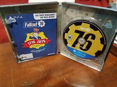 Fallout 76 PS4. Includes steelbook. New