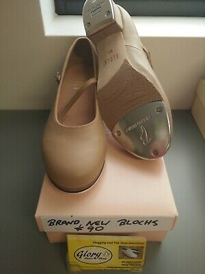 Ladies Bloch Tap Dance Shoes Fawn Size 9 1/2  Brand New in Box