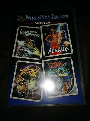 NEW Monrons From Outer Space Alien LA The Man From Planet X Angry Red Movies DVD