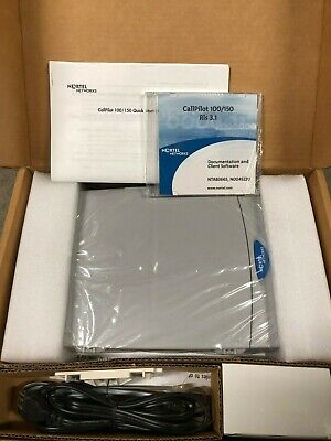 NEW Nortel Norstar Call Pilot 100 R3.1 Voicemail System 40 Mailboxes CICS MICS