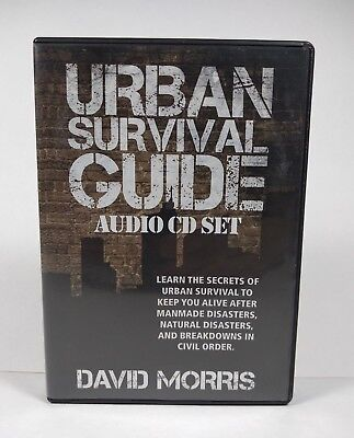 Urban Survival Guide Audio CD Set by David Morris (8 CD Set)