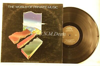"""The World of Private Music, Record 12"""" VG"""
