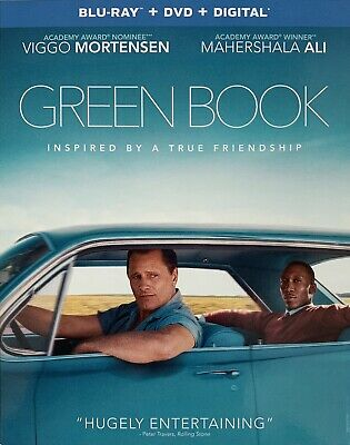 GREEN BOOK ~ Blu-Ray + DVD + Digital *New *Factory Sealed