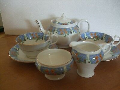 Aynsley Tea For 2 With A Pot