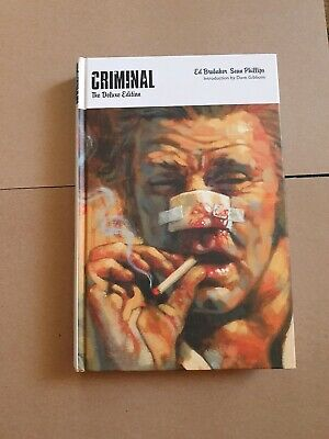 Criminal the Deluxe Edition Vol 1 Brubaker & Phillips Good Condition Icon