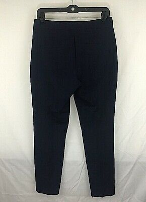 Reiss Ankle Dress Pants Stretch Navy Womens Size 4