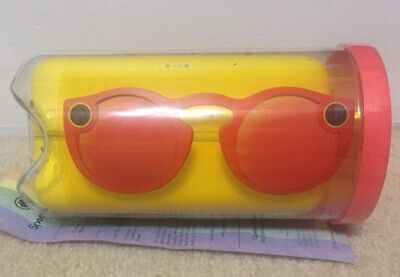 Snapchat Spectacles Sunglasses Coral Brand New Sealed