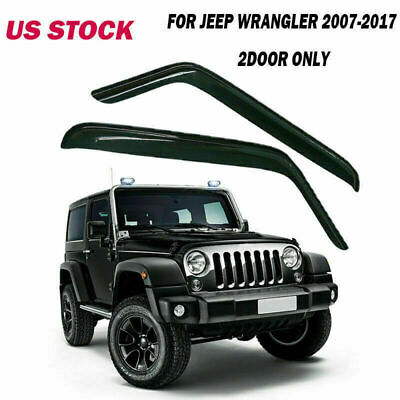 4PCS For 2000-2004 Nissan Xterra Vent Shade Window Visors Weather Shields Guards