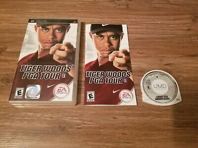 Tiger woods PGA tour complete Psp Game  FREE SHIPPING