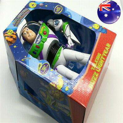 12'' Disney Kid Toy Story Buzz Lightyear Talking Walking Action Figure Toys Doll