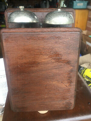 Antique PMG Telephone 1960,s wooden bellset