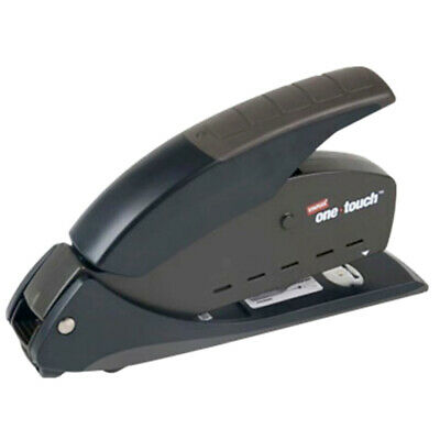 Staples One-Touch CX-1 Compact Stapler 20-Sheet Capacity BLACK