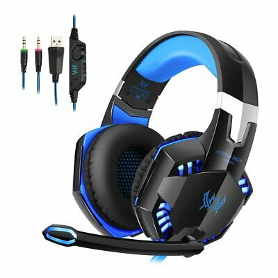 EACH G2000 3.5mm Mic Gaming Headset Surround for PC Laptop PS4 Slim Xbox One 360