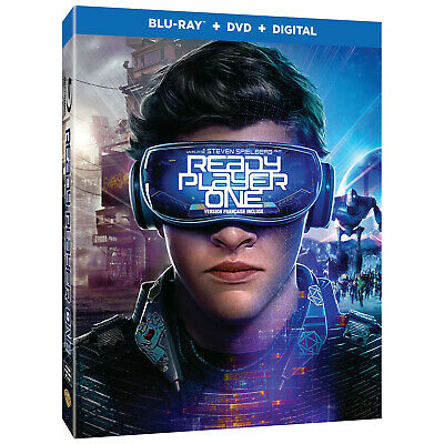 Ready Player One (Blu-Ray, DVD, Digital Movie Combo)