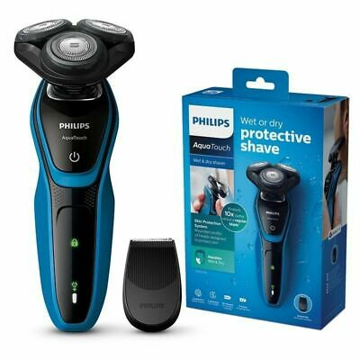 100%Genuine New Philips S5050 Skin Protection Wet Dry Electronic Cordless Shaver