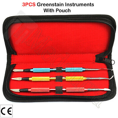Laboratory Wax and Modelling Mixing Carvers Ceramic Sculpturing Instruments 3PCS