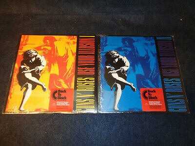 Guns N' Roses Use Your Illusion I Ii - 2 Lp 180 Gr Vinyl - Sealed - N2 - Flg